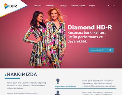 BDR INK Website