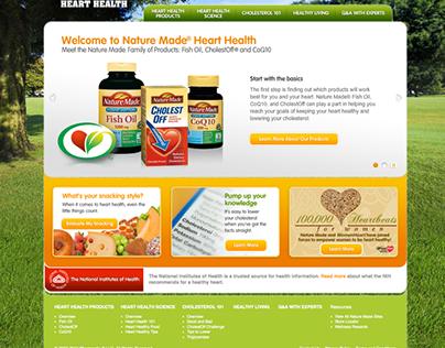 Nature Made E-Commerce Website
