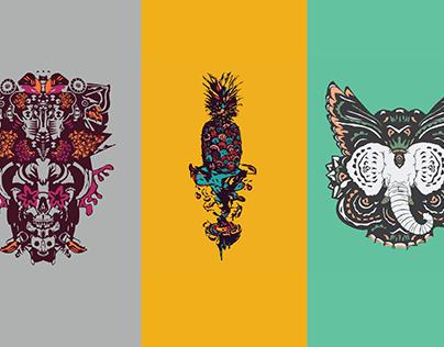 T-Shirt Designs - VOL. II