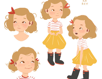 Character design for children's book