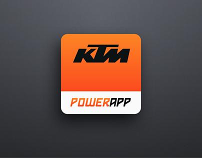 KTM Mobile PowerApp
