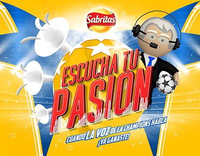 Promoción Sabritas: Escucha tu pasión