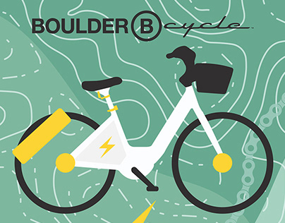 BOULDER B-CYCLE GRAPHIC SYSTEM