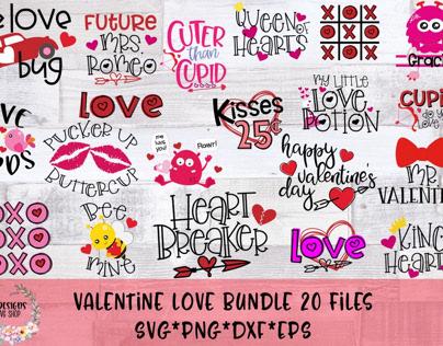 Valentines Love Bundle