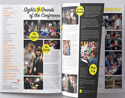 Magazine Cover, Spread and Additional page design