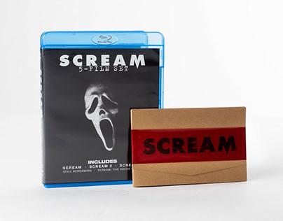SCREAM Collectors Booklet