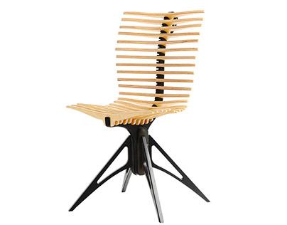 Skeleton designer chair by BELSI