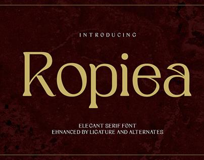 Ropiea - Modern Elegant Font