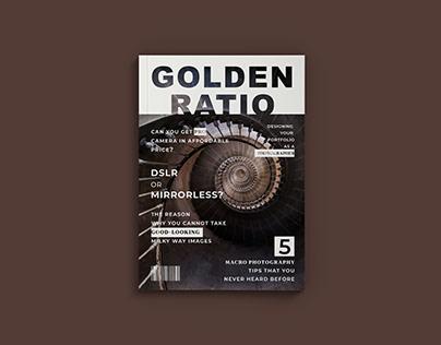 Magazine Layout & Cover