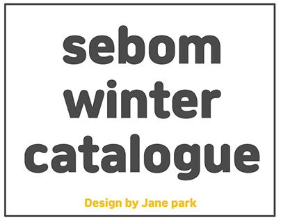 sebom winter catalogue