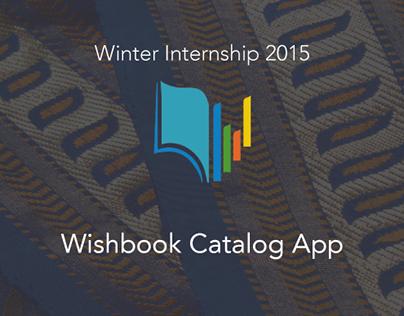 Wishbook Catalog App