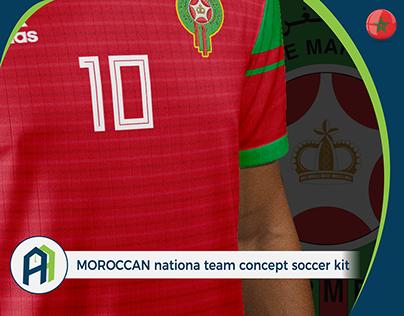 new product f1303 6b26f Morocco Football National Team | Adidas Kits on Behance