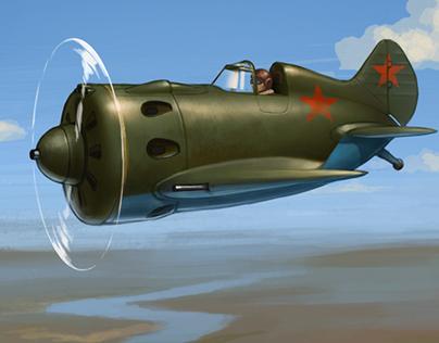 Soviet aircrafts WW2