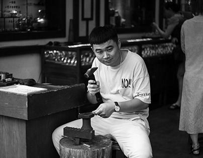 杭州 河坊街采风