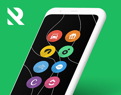 Rondo – Flat Style Icon Pack for Android