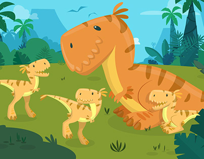 Dinosaurs design (Kidloom)