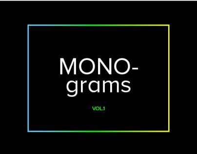 Monograms Vol.1