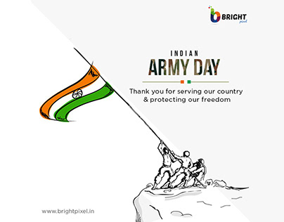 Indian Army Day   Bright Pixel