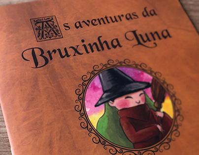 """Livro infantil """"As aventuras da Bruxinha Luna"""""""