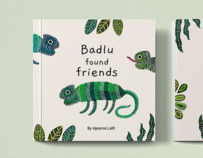 Badlu found friends - An illustrated short