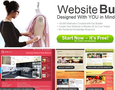Professional Business website builder