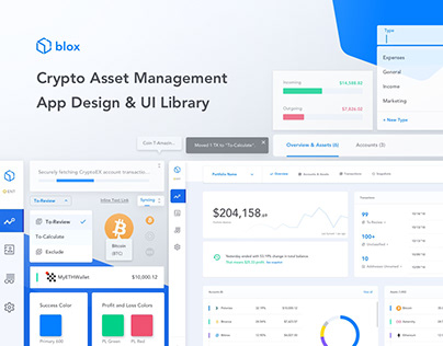 Blox.io - App Design and UI Library