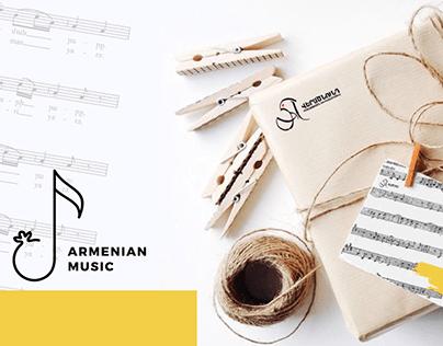 Armenian Music l Book Packaging