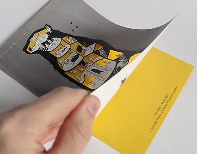A Bear greetings card