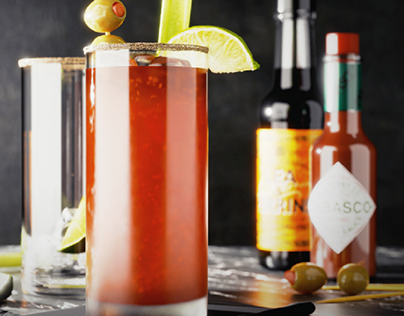 Ceasar Cocktail in Blender 2.9