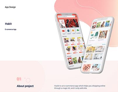 Hakit E-Commerce App / Vy Thao