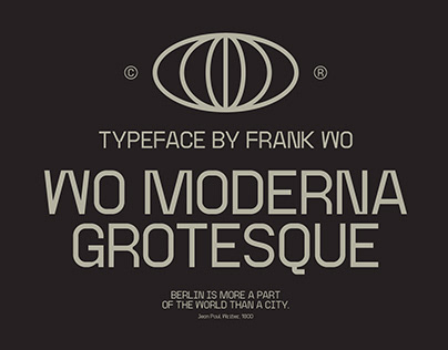 Wo Moderna Grotesque