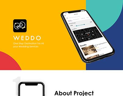 iOS Presentation for Weddo App