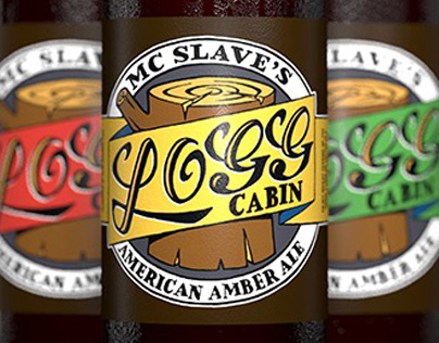Bottle Render MC Slave's Logg Cabin Beer