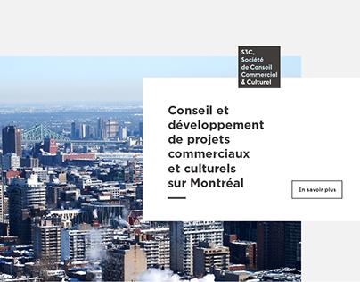 S3C Conseil Montréal - identité & webdesign