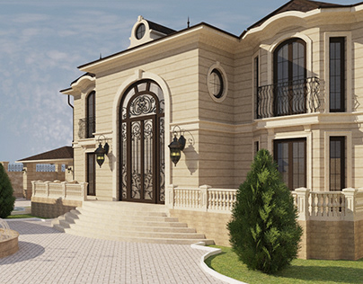 РЕЗИДЕНЦИЯ в классическом стиле г. Туркестан - 674,1 м²