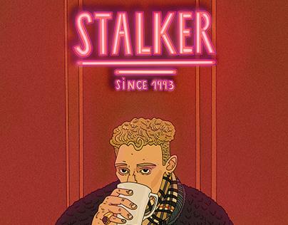 BLONDEY MCCOY AT STALKER'93