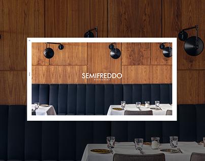 Semifreddo Restaurant. Official website