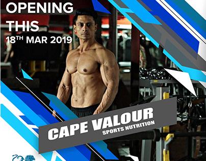 Sports Nutrition Cape Valour
