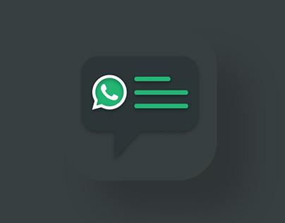 WtsAppy App UI