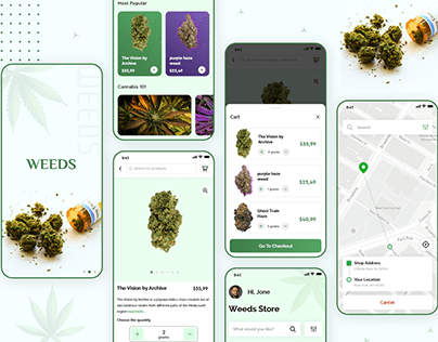 Weed Delivery App