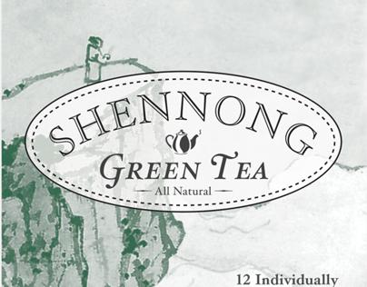 Shennong Tea Packaging