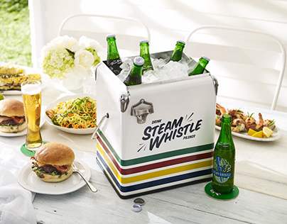 Hudson's Bay Collection + Steam Whistle Barware