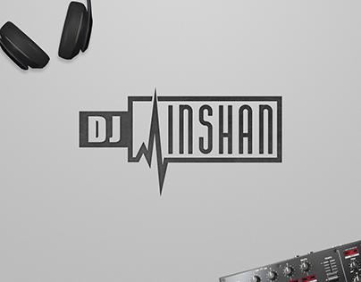 DJ Inshan logo design