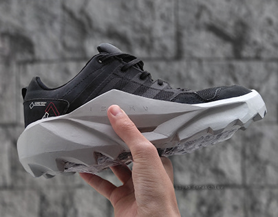 """Beton"" Customized sole prototype"