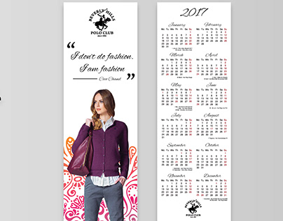 Beverly Hills Polo Club Bookmark