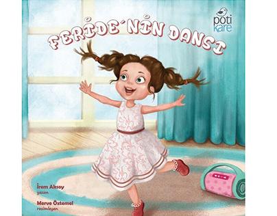 Feride'nin Dansı - Pötikare Yayınları