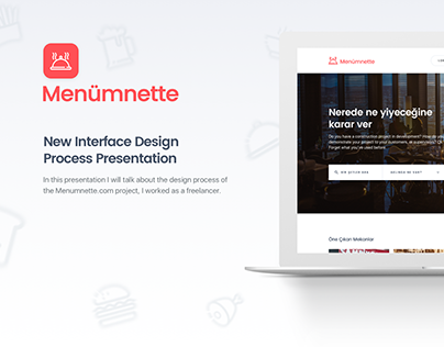 Menumnette New Interface Design Process
