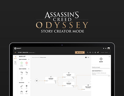 Assassin's Creed - Story Creator Web-based App
