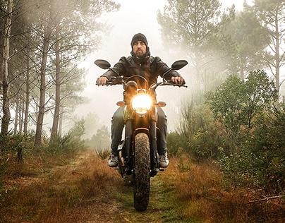 Cinemagraph Motorbike Trip