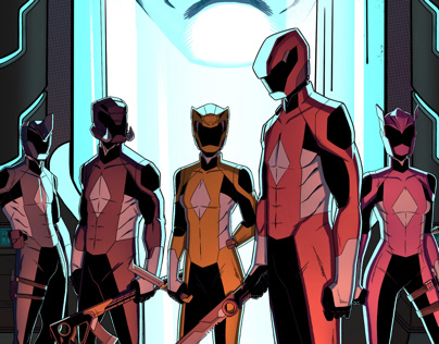 Mighty Morphin Power Rangers - Redesign